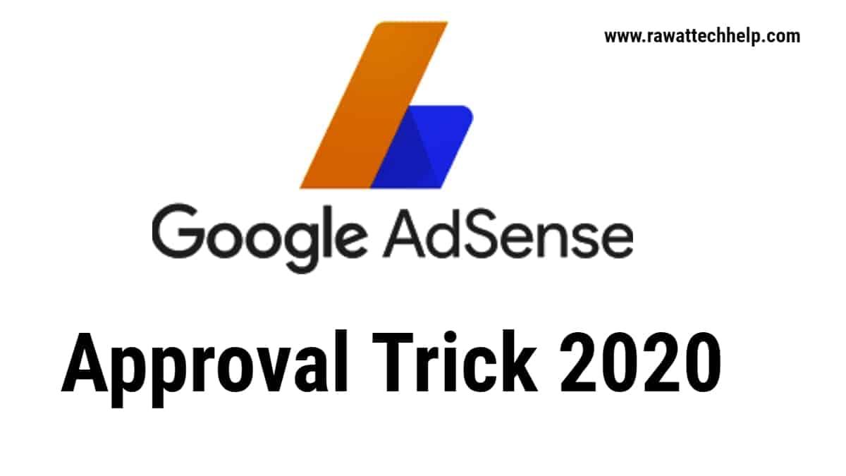 Adsene approval trick 2020