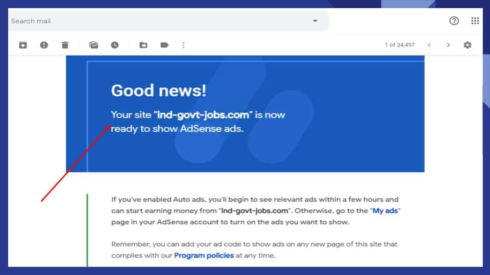 Adsense Approval trick in 13 days old site
