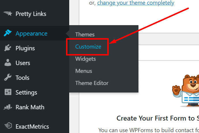 customize your theme